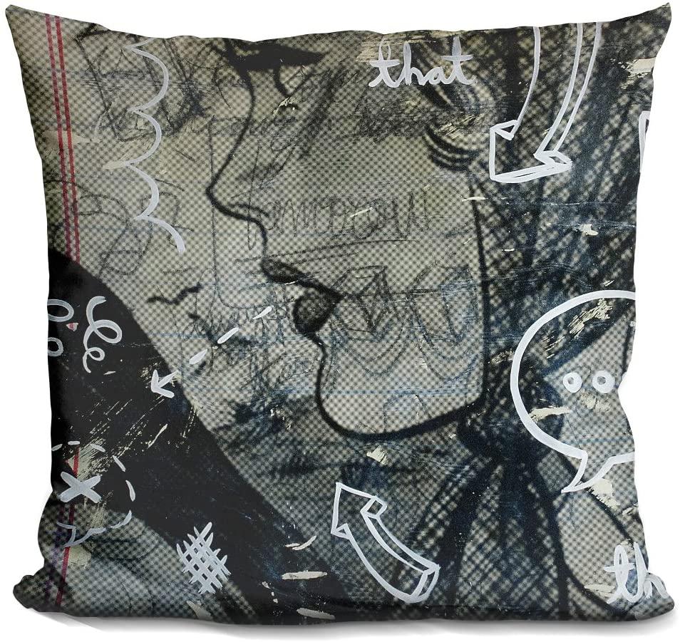 LiLiPi Tomorrow Decorative Accent Throw Pillow
