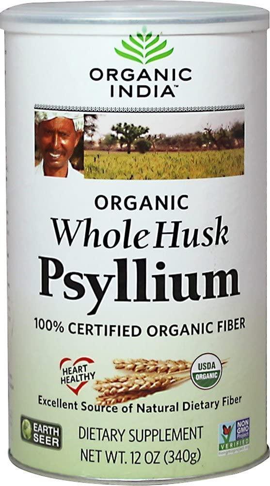 Organic India Fiber Harmony Psyllium Whole Husk, 3.5 Ounce - 3 per case