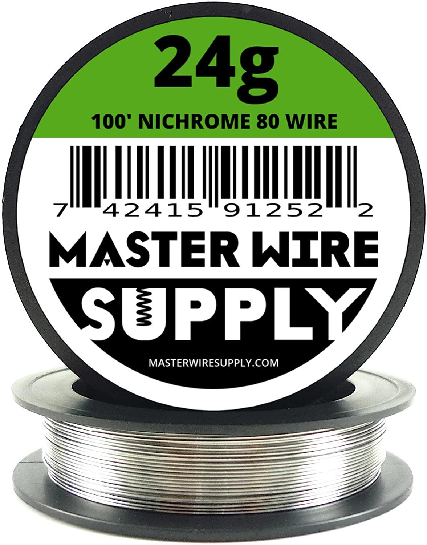 Nichrome 80 - 100' - 24 Gauge Resistance Wire