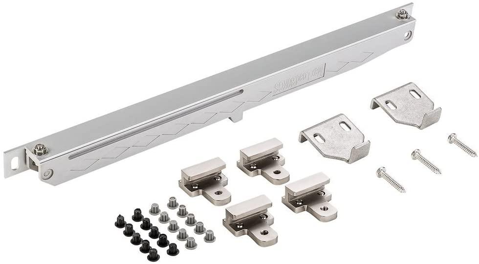 National Hardware N187-082 V1060 Sliding Door Hardware Soft Close in Satin Nickel