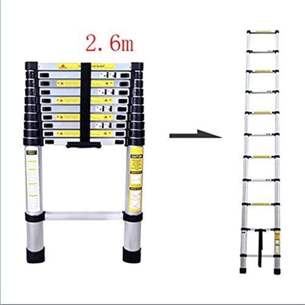 LADDERS Ladders Aluminum Telescopic, Adjustable Height Telescopic Folding, Load Capacity 150Kg