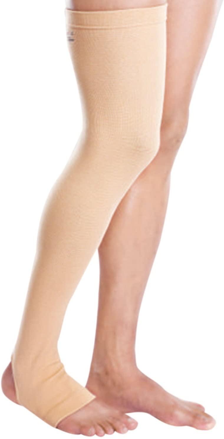 Tynor Compression Stocking Mid Thigh Classic (Pair) Medium Beige (2.00)