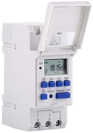 7 days heavy duty THC 15A Digital timer Programmable timer Relay 16 On