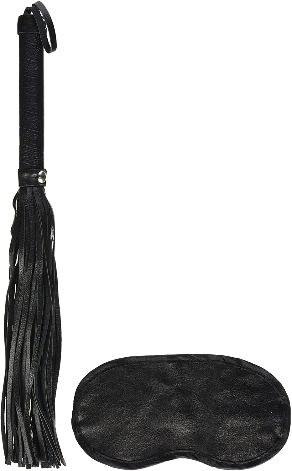 Novelties By Nasswalk Dominant Submissive Collection Multi Strand Spanker, Black