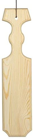 JennyGems Greek Sorority and Fraternity Wood Paddle 24 Inches - Meets the 24 Inch Suggested Size Greek Paddle Requirement - Greek Life, Unfinished Pine Wood