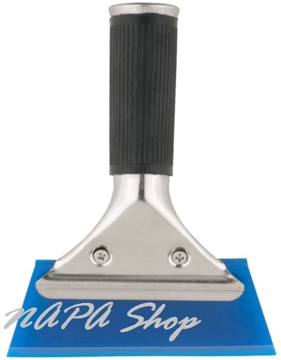 1PC Blue Razor Blade Scraper Water Squeegee Tint Tool for Car Auto Film For Window Cleaning