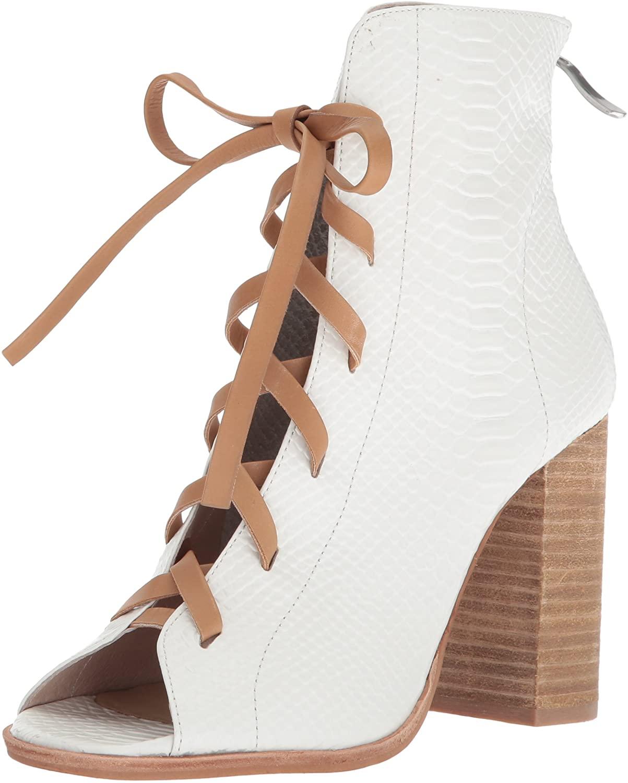 Chinese Laundry Kristin Cavallari Women's Layton Ankle Boot, White, 6.5 M US