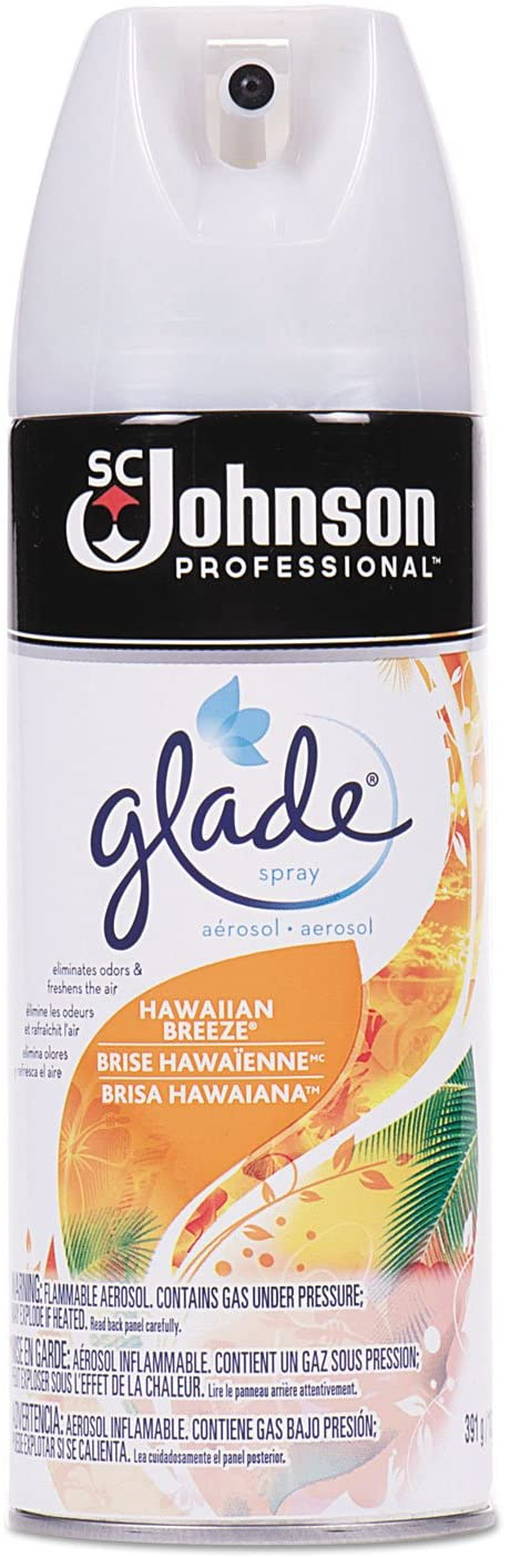 Glade Air Freshener, Hawaiian Breeze Scent, 13.8 Oz Aerosol