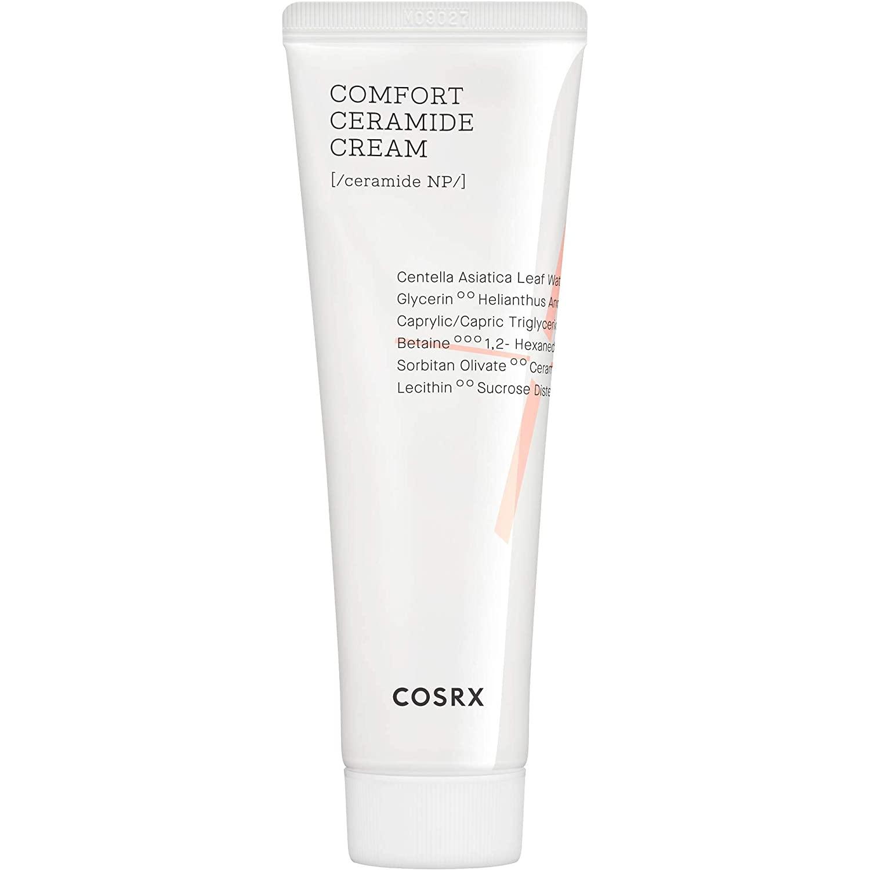 COSRX Balancium Comfort Ceramide Cream, 2.82 oz / 80g | Centella Asiatica Matte Balm | Korean Skin Care, Cruelty Free, Paraben Free