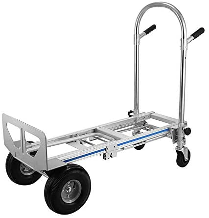 Event Specialty Store Multi-Function Utility Cart Aluminum 3 in 1 Folding Hand Truck Dolly