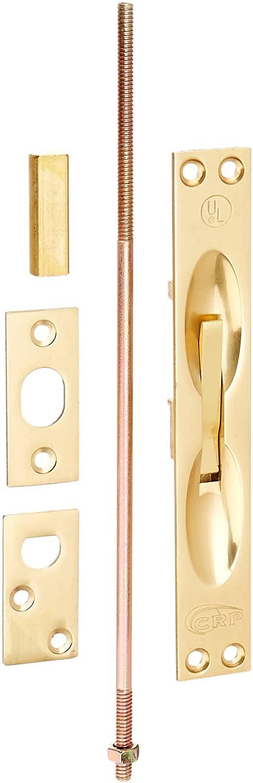 Cal Royal ULFB6343 Extension Flush Bolt, Polished Brass