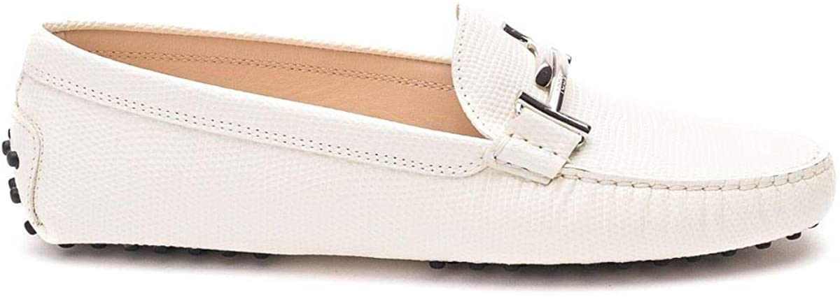 Tod's Luxury Fashion Woman XXW00G0Q499MXAC016 White Leather Loafers | Spring Summer 20