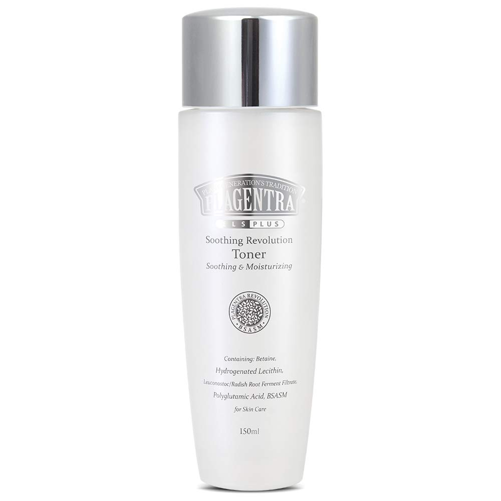Plagentra Facial Soothing Revolution Toner Natural Source of Hydration for Skin Moisturizer - 5.07 Ounce