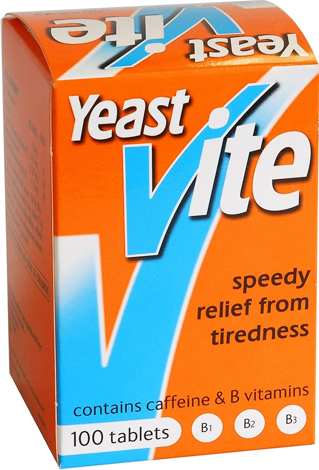 Yeast Vite Tablets, 100 Count, Speedy Relief From Tiredness