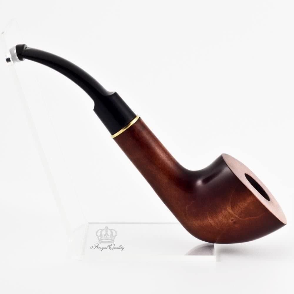 Carved tobacco smoking pipe (for 9mm filter) | pipes - 5.9'' (15cm)