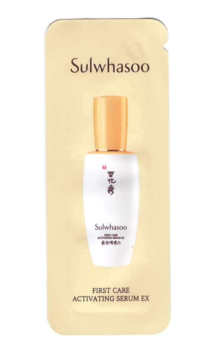 Sulwhasoo First Care Activating Serum 2019 Upgraded Version 30 sample sachets