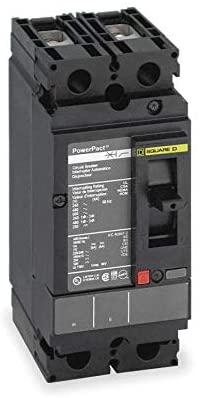 SCHNEIDER ELECTRIC 600-VOLT 20-AMP HDL26020 Molded CASE Circuit Breaker 600V 20A