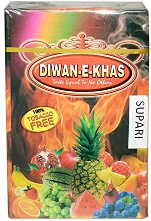 Diwan-E-Khas Supari Hookah Flavour 100% Tabacco Free (Pack of 5)
