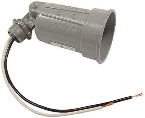 Hubbell-Bell 5606-0 Lampholder, Gray