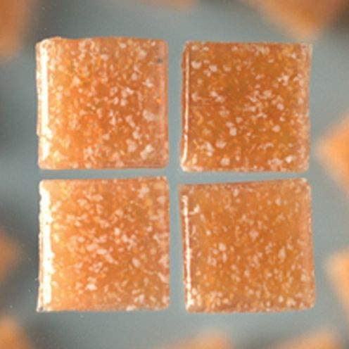 MosaixPro Glass Tiles 10 x 10 x 4 mm 200 g ~ 302 pcs. Light Brown