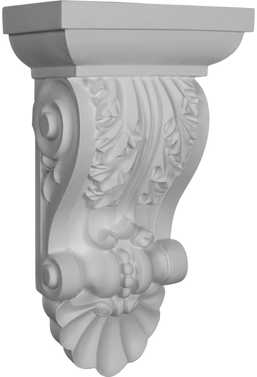 Ekena Millwork COR14X08X05AC-CASE-2 Corbel, Factory Primed and Ready for Paint