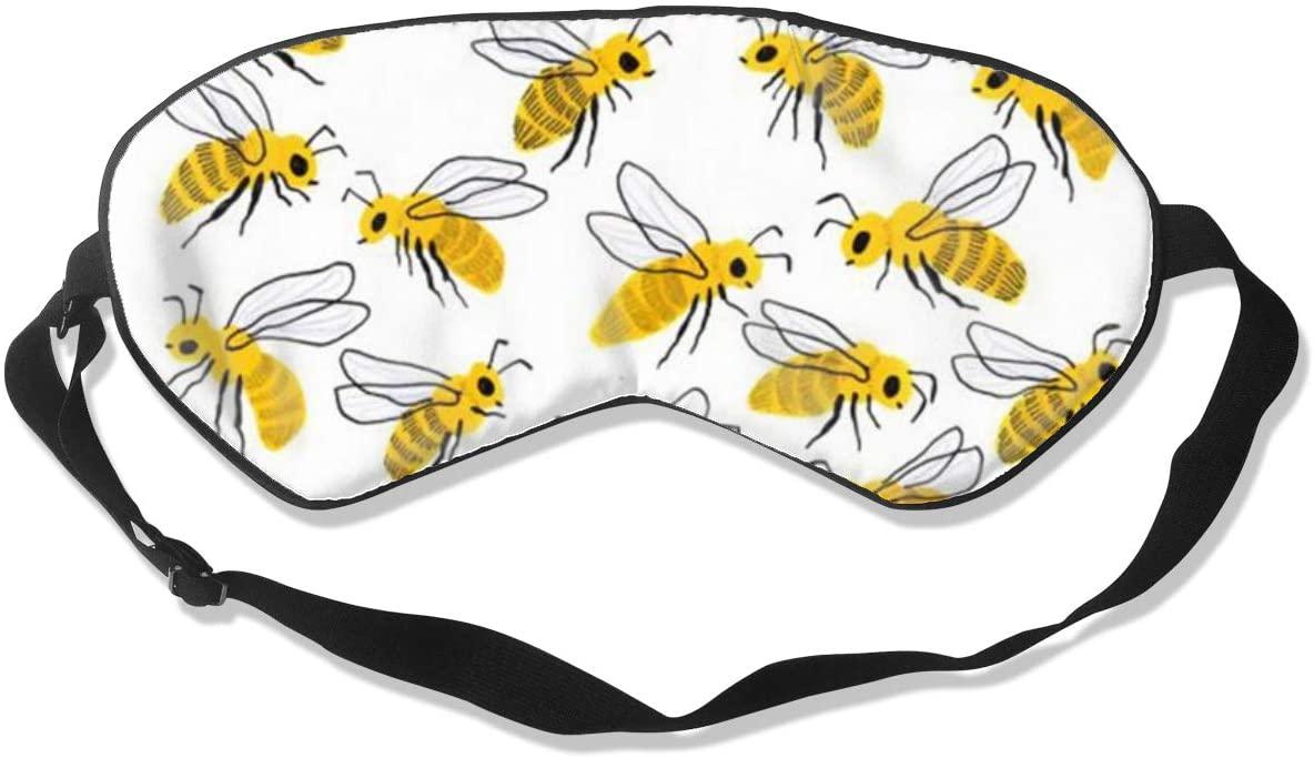 Bee Women Men Eye Shade Cover for Sleeping,Eye Mask for Night Sleep
