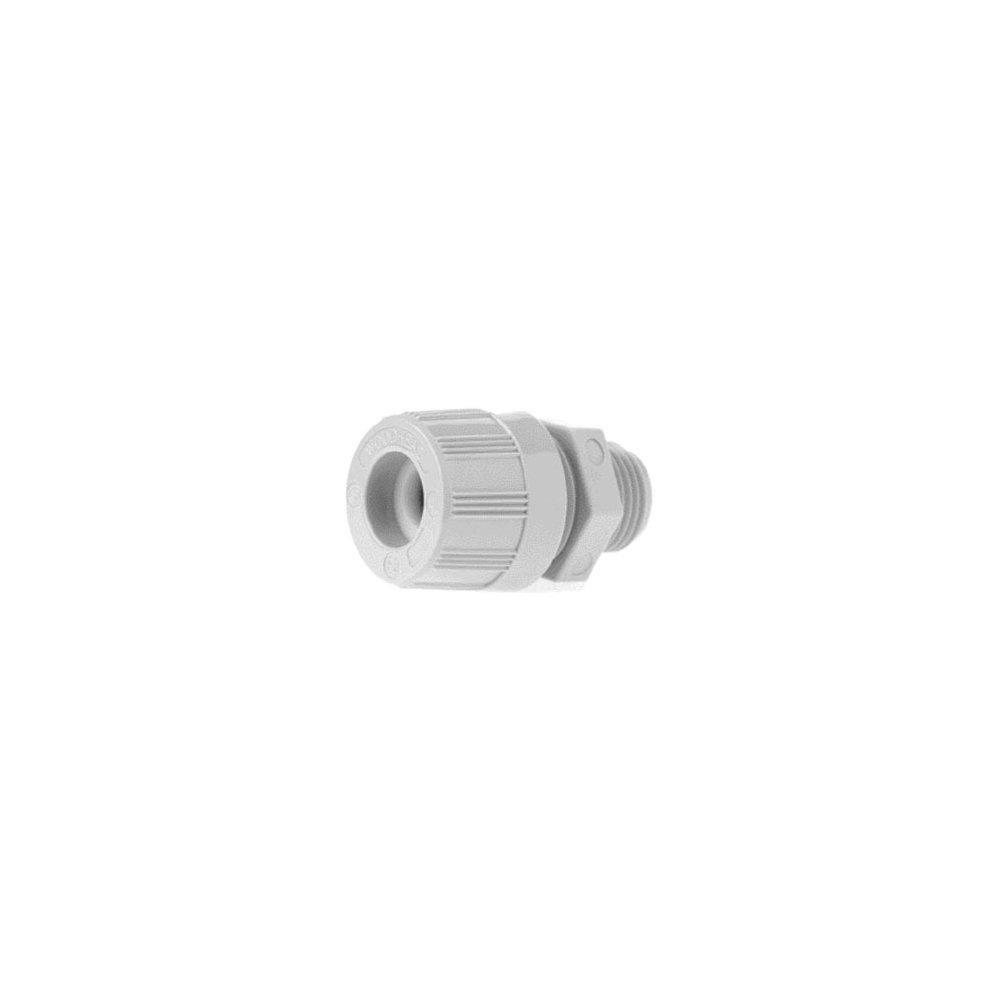 Woodhead 5546W Cable Strain Relief Grip, O-Ring, Locknut, Max-Loc Cord Seal, Straight Male, 1