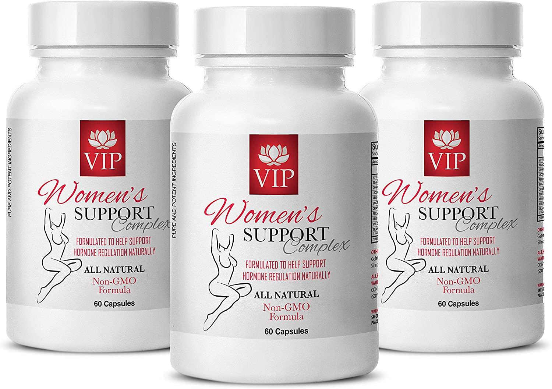 Enhancement Natural All - Women'S Support Complex Natural - Female libido Pills - 3 Bottle (180 Capsules)