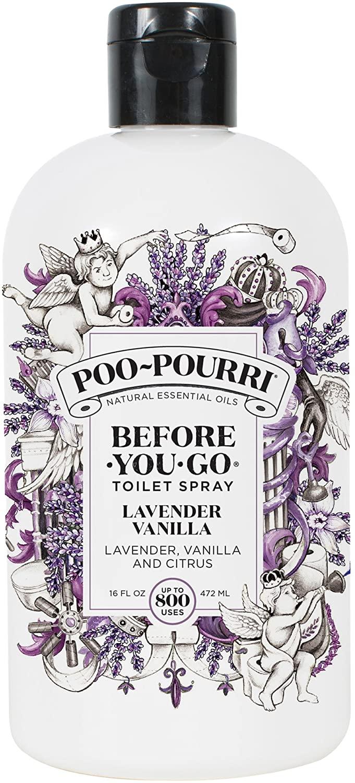 Poo-Pourri Before-You-go Toilet Spray, 16, Lavender Vanilla Scent, 16 Fl Oz