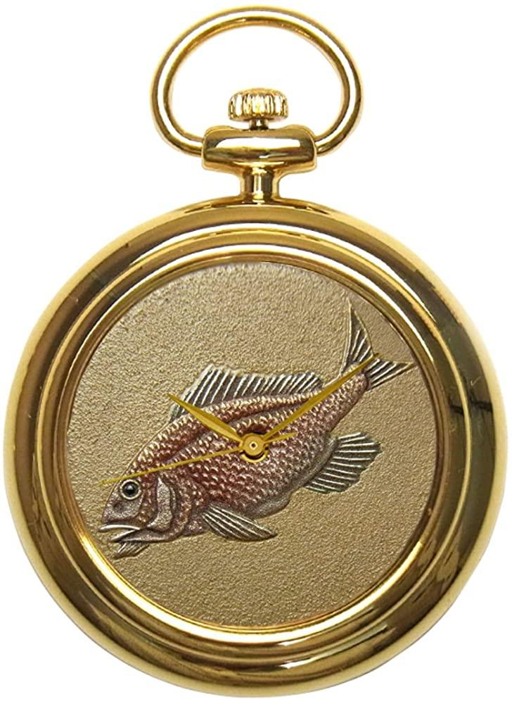 Urushi Maki-e Pocket Watch JogaJakuchu's Fish