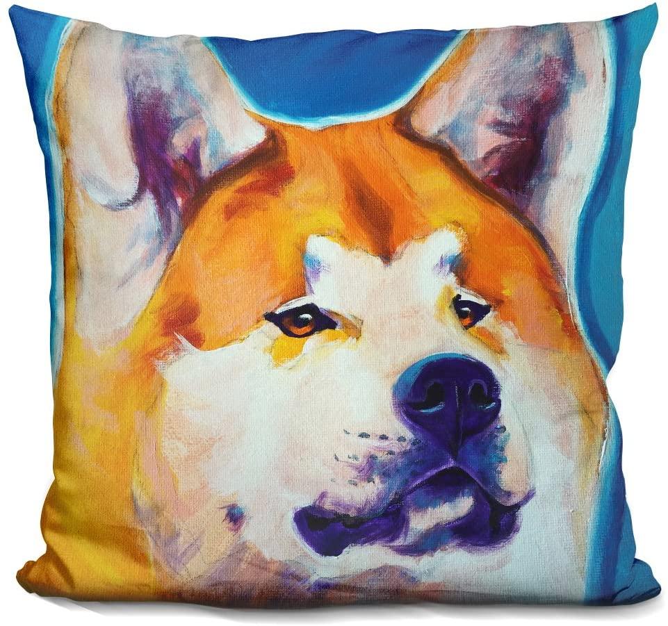 LiLiPi Akita-Apricot Decorative Accent Throw Pillow