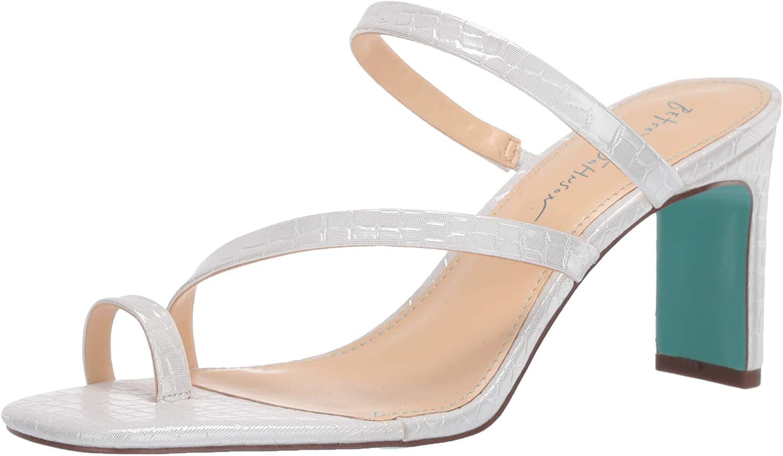 Betsey Johnson Women's Sb-anya Heeled Sandal