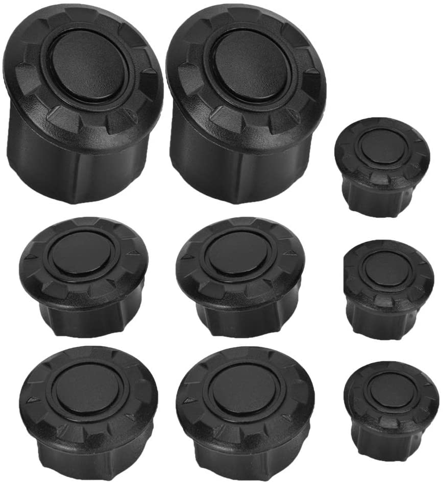 Motorcycle Frame Caps - Motorcycle Frame Hole Cover Caps Plug Kit Decor for R1200GS LC Adventure 14-18
