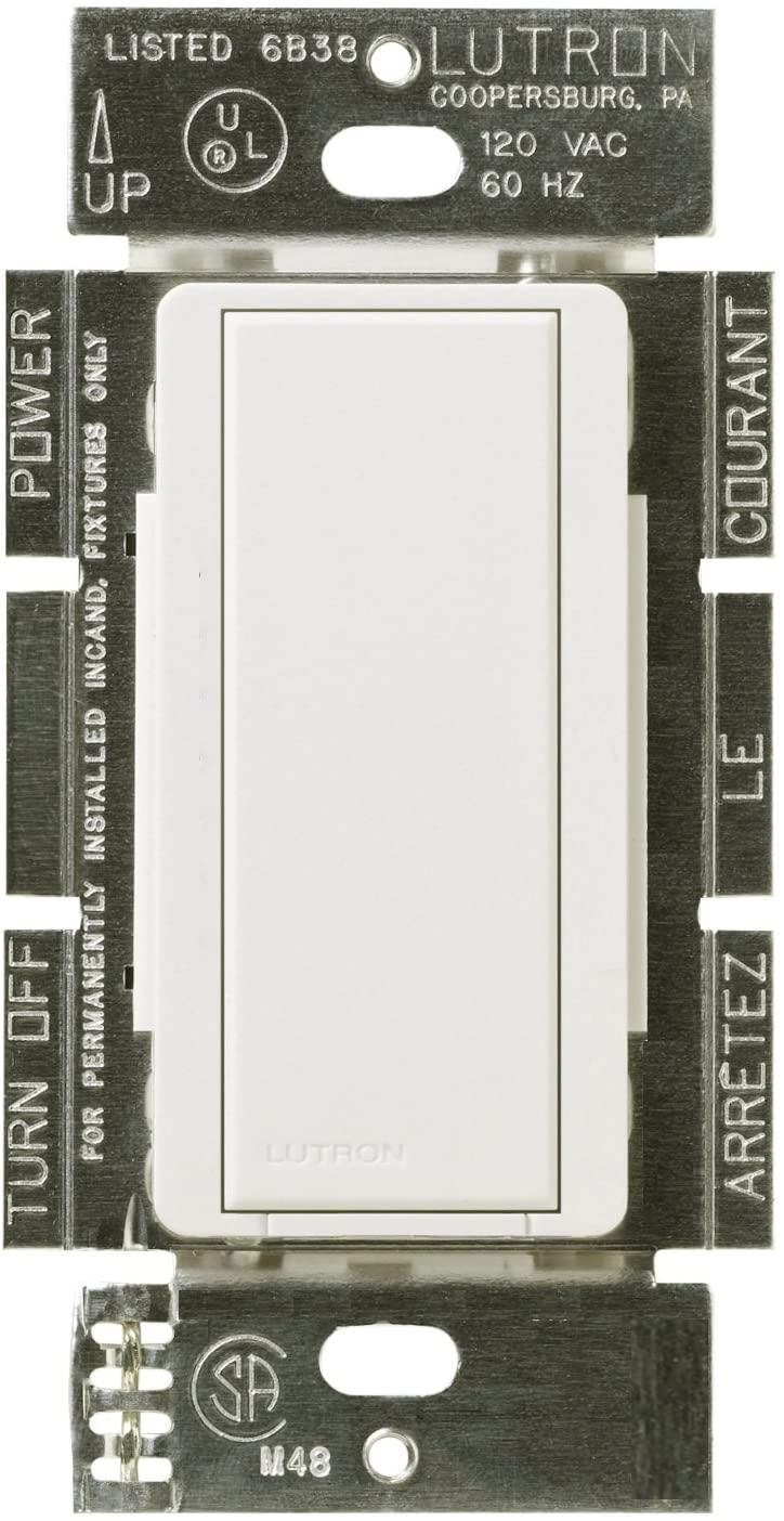Lutron MA-AS-277-WH Maestro 277-volts Companion Switch, White