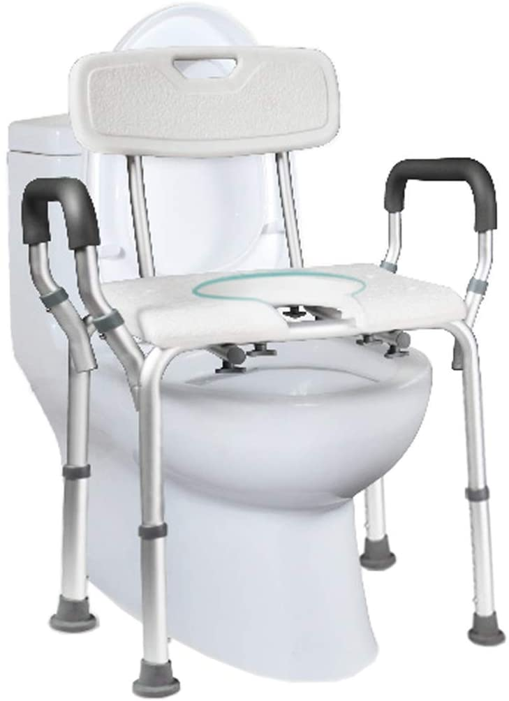 CSS Luxury Bath Stool Medical Toilet Chair Foldable Toilet Stool Stool Old Man Grandparents Disabled Shower Bathroom