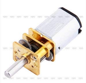 Wal front DC 6V 30 RPM Speed Reduction Gear Motor Metal Gearbox N20 3 MM Shaft Diameter × 10 MM Shaft Length DIY Electric Toys Small Cars Robots Model