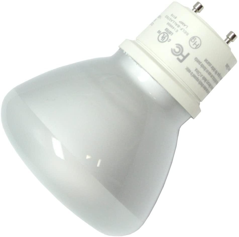 (12-Pack) TCP 33116R3030K 16W 3000K GU24 Base Covered CFL R30 Flood Lamp, 65W Equivalent