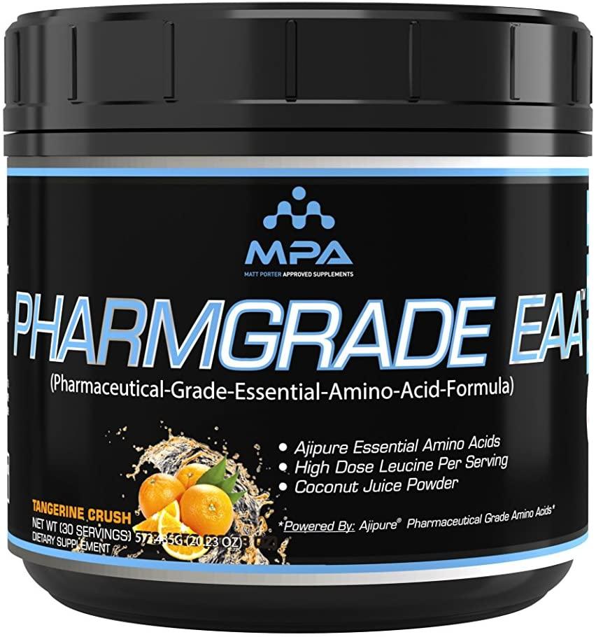 PharmGrade EAA Tangerine Crush, IntraWorkout, Essential Amino Acid