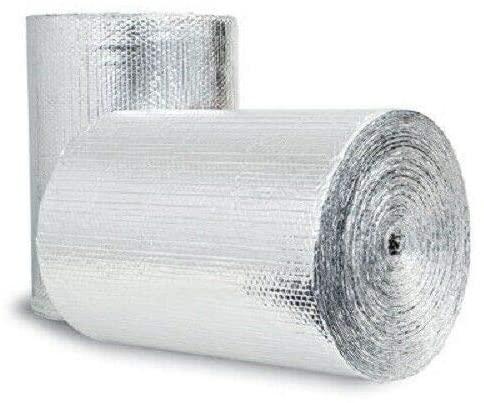 DD24125 Air Double Reflective Polyethylene Insulation Roll, 2-Feet by 125-Feet