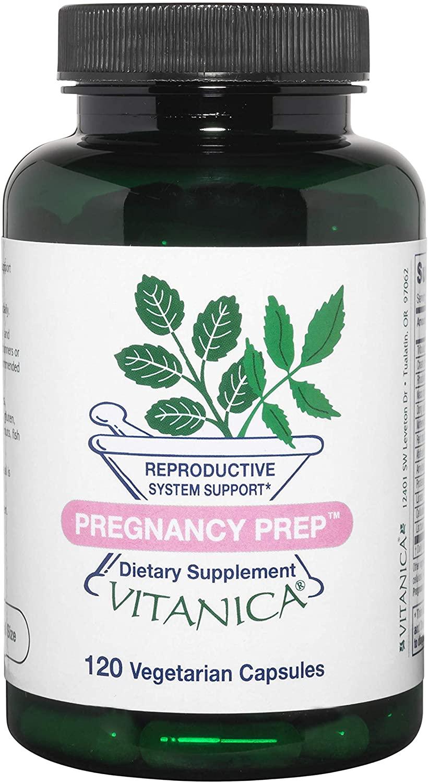 Vitanica Pregnancy Prep, Reproductive System Support, Vegan, 120 Capsules