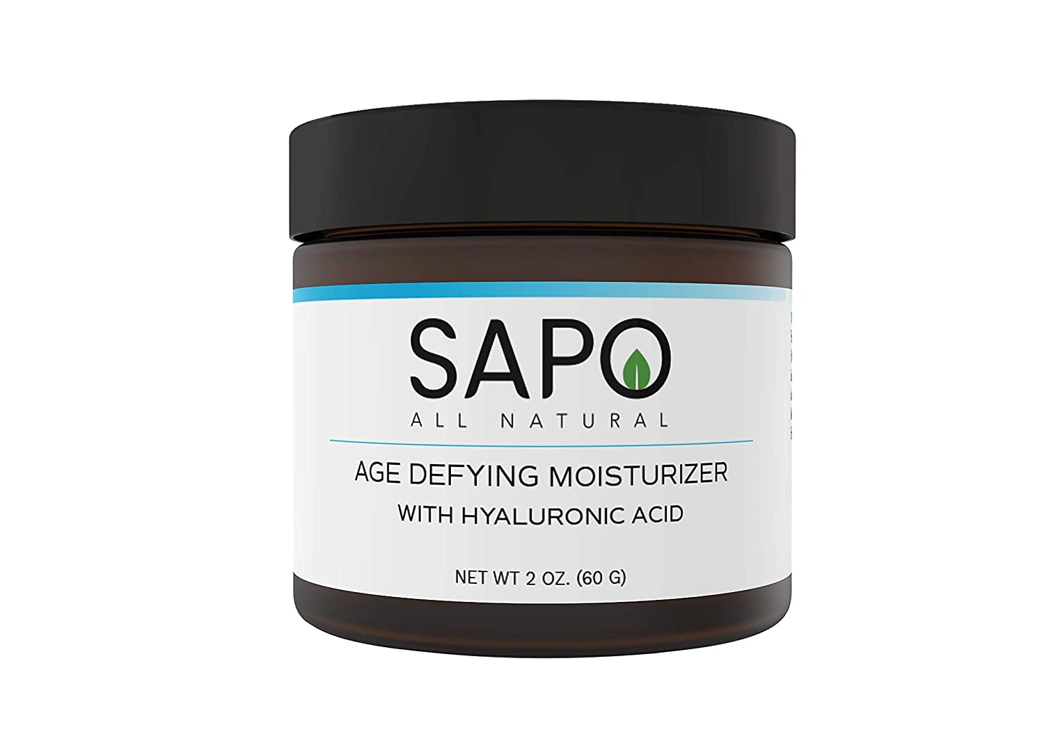 Sapo All Natural Moisturizer with Triple Peptides, Aloe Vera, Vitamin B, C, E and Hyaluronic Acid. A Face Moisturizer that Hydrates and Protects Your Skin for a More Brighter and Youthful Appearance