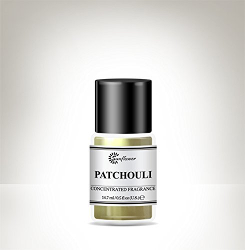Black Top Body Oil - Our Impression of Patchouli .5 ounce (4-Pack)