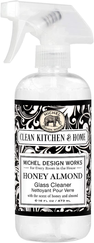 Michel Design Works Glass Cleaner, Honey Almond