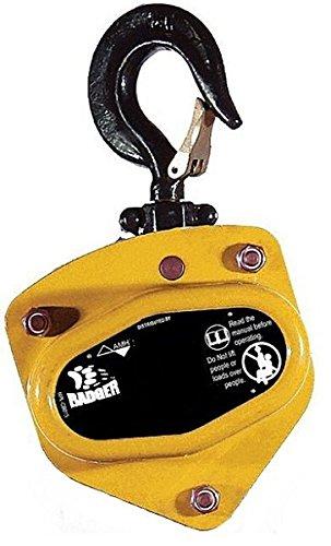 All Material Handling CB010-00-00 Badger Manual Chain Hoist, 1 Ton, 00' Lift, 00' Drop, No Chain