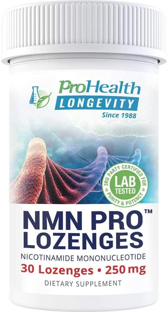 ProHealth NMN Pro Lozenges (250 mg, 30 lozenges) Nicotinamide Mononucleotide