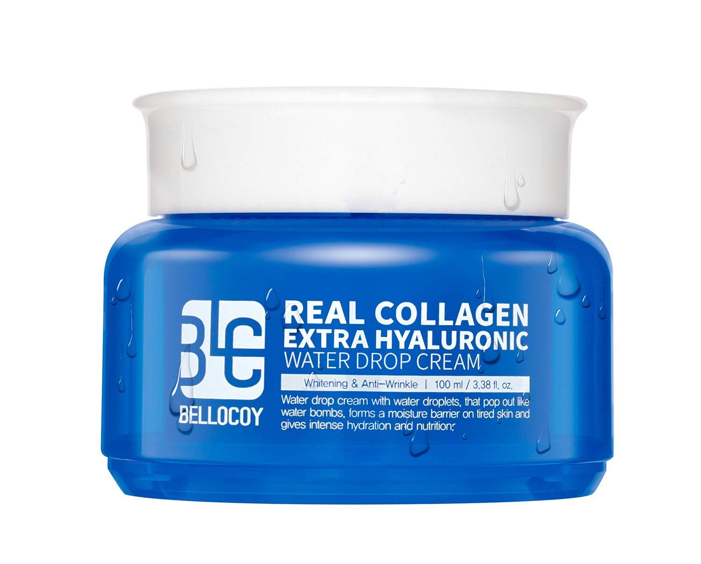 BELLOCOY Real Collagen Extra Hyaluronic Water Drop Cream 100ml