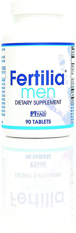 Fertility Pills - Male Fertility Blend Supplements for Men - Increase Fertility and Improve Sperm Health - Fertilia Men (Known as Fertil Pro Men in Canada)