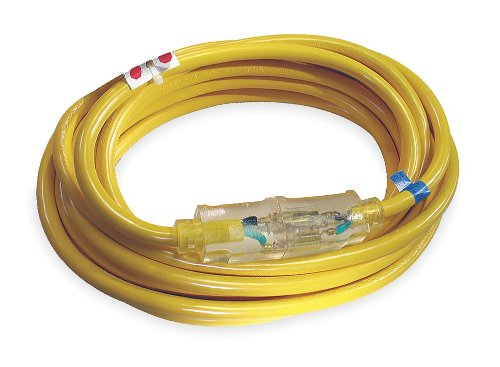 100 ft. 12/3 Lighted Extension Cord SJTOW