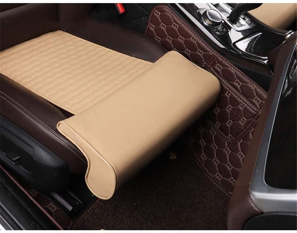 GFYWZZ Car Leg Support Pillow, Leg Rest Extended Leather Cushion for Long-Distance Driving Leg Rest Cushion