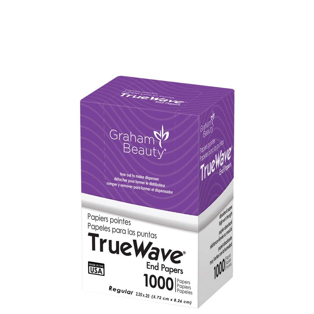 Graham True Wave Roller End Papers - Regular - 1000 Papers